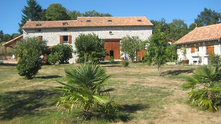 This traditional fermette in Haute-Vienne comes with 25ha of unspoilt rolling countryside plus barn,