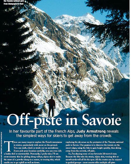 Sidestep the crowded ski slopes and enjoy your very own off-piste adventure