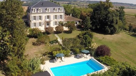 This six-bedroom chateau in Lot-et-Garonne is on the market for 795,000 euros