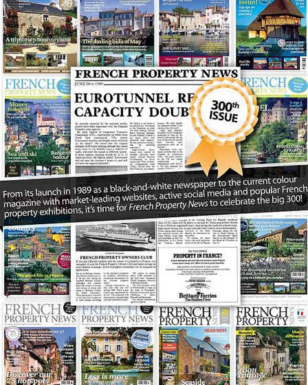 Celebrating 300 issues of French Property News