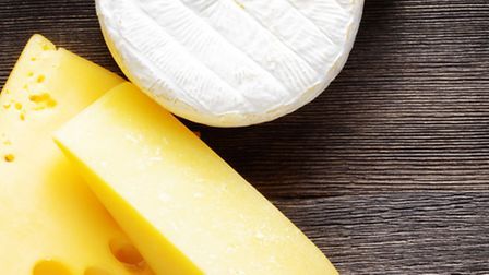 An assortment of popular cheeses © Dreamstime