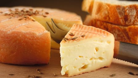 Munster washed-rind cheese from the Vosges mountains