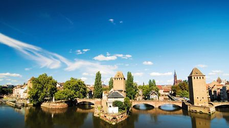 The pretty network of small canals and bridges in Strasbourg ©iStockphoto