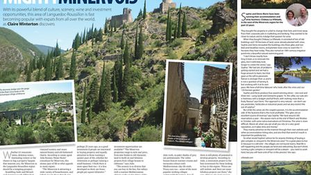 Location feature May issue 303