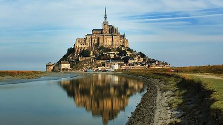 Le Mont-Saint-Michel, the starting point for this year's Grand Départ © Irina Bort / Dreamstime