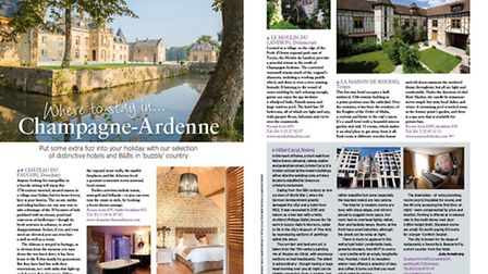 We find a diverse range of places to stay in tranquil Champagne-Ardenne