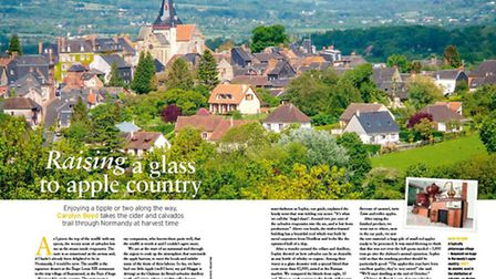Carolyn Boyd goes in search of calvados and cider in idyllic Normandy