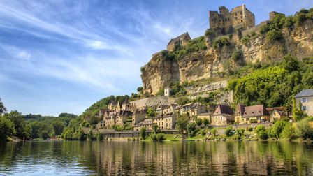 The picture-perfect village of Beynac-et-Cazenac