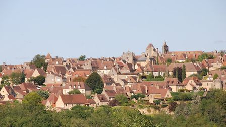 The village of Domme