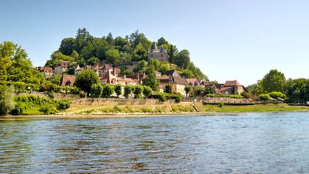 The medieval village of Limeuil
