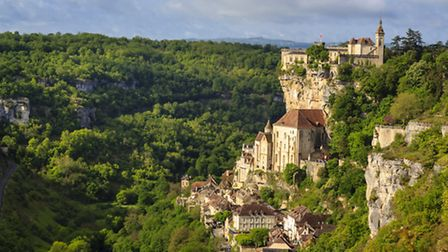 Rocamadour, one of the most beautiful and most visited medieval villages in France