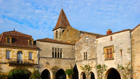 The bastide of Monpazier, founded in 1284