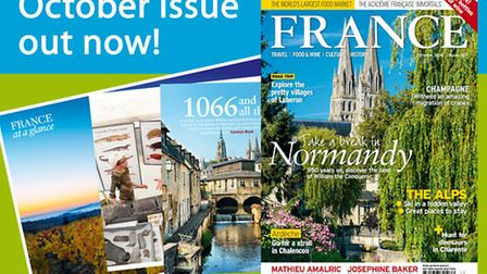 The October 2016 issue of FRANCE Magazine