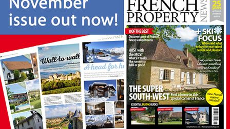 November 2016 issue of French Property News out now