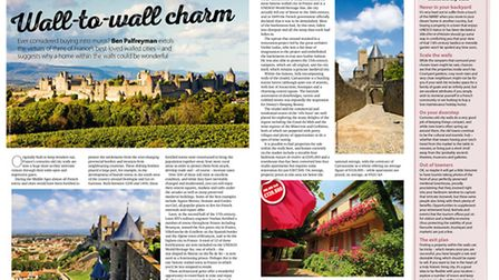 Buying in walled towns in the November 2016 issue of French Property News
