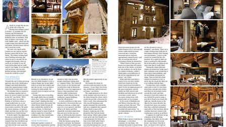 Brits living in the Alps in November 2016 issue of French Property News