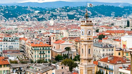 View of Nice's Old Town © ThinkStock