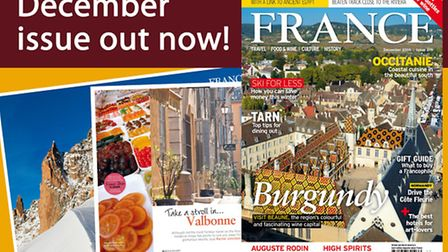 The December 2016 issue of FRANCE Magazine
