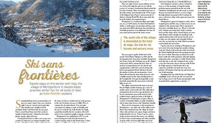 The pretty Alpine village of Montgenèvre is the place to go for a ski holiday without the crowds