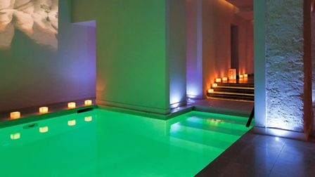 Insde Spa 28, located just a stone's throw away from the Sorbonne