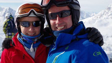 Lovers of the French Alps, Christine Birch and Steve OCarroll