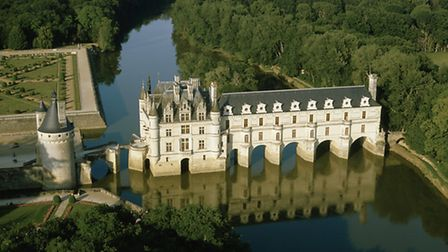 The chateau at chenonceau is one of the most-visited castles in France