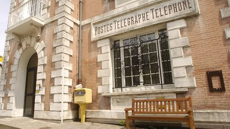 A telegraph office in France