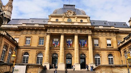 French courts in Paris