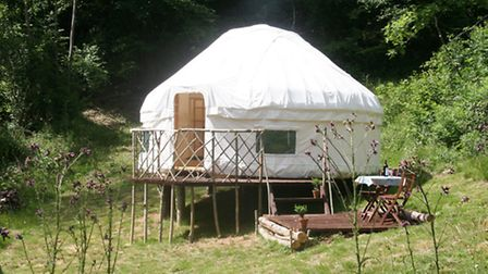 The yurts have proved popular with guests