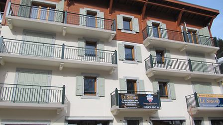 Le Savoy in the centre of Argentière has been converted into three apartments