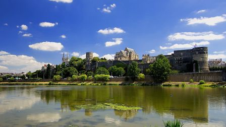 The town of Angers © OKIO CDTA