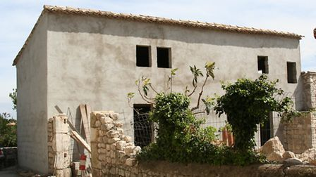 A typical French home ripe for renovation