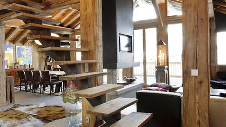 Luxury bespoke chalets in Val d'Isère are proving poopular