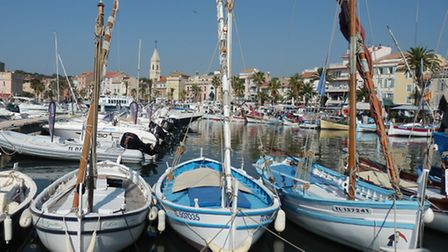 Boats in the dock of Marseille
