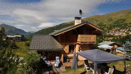 A beautiful three-bed chalet on the market for ¬684,000 (www.frenchestateagents.com)