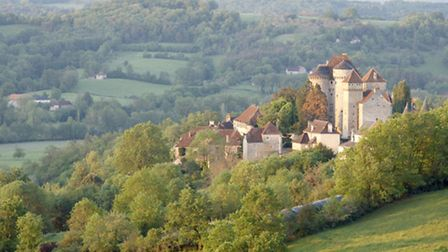 Picture-perfect landscape of Limousin