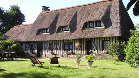 A beautiful colombage home in Normandy; ¬484,000 (www.clefrance.co.uk)