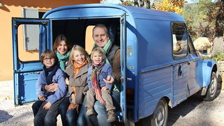 The Cronk family enjoy a happy family life while running a successful wine business in a Provence vi