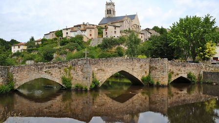 The beautiful village of Bellac