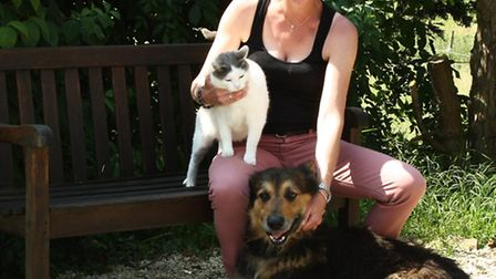 Stephanie loved animals so much, she set up her own boarding kennels and cattery