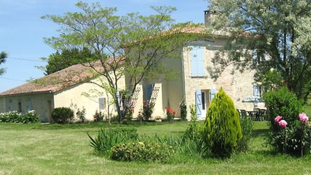 The Wellesley's home in France