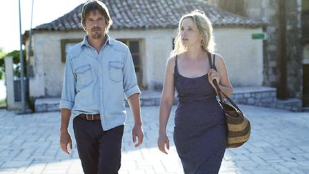 Ethan Hawke and Julie Delpy in Before Midnight © Sony Pictures Classics