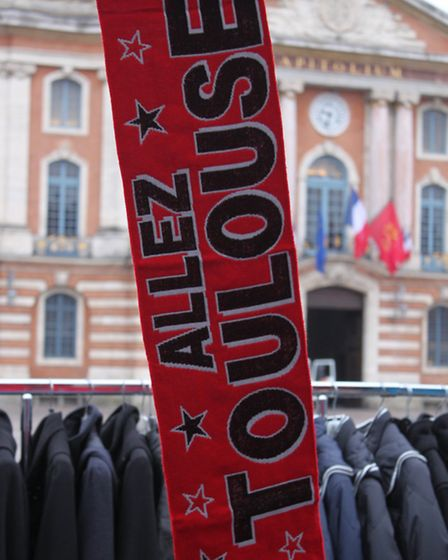 Toulouse supporter's scarf © Ben Lerwill