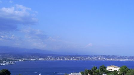 View across Cannes