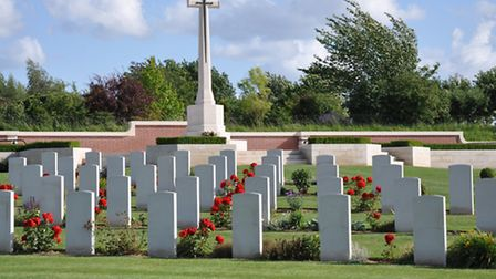 Pheasant Wood Cemetery, Fromelles