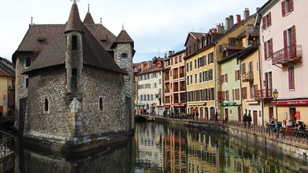 The historic quarter of Annecy © Pascal Lebeau / OT Annecy