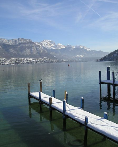 The Lac d'Annecy © OT Annecy