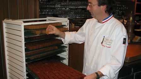 Thierry Froissard and his gourmet desserts