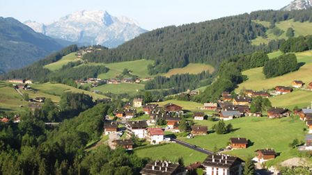 Stunning view in Le Grand Bornand