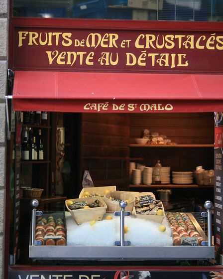 Saint-Malo is famous for its fresh seafood